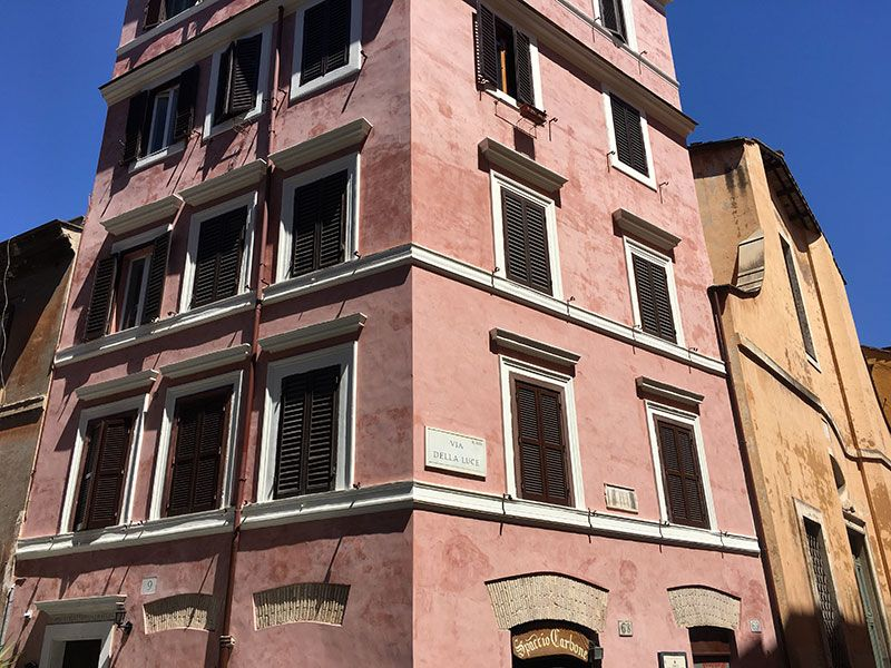 Qué ver en Trastevere - Roma - Fachadas