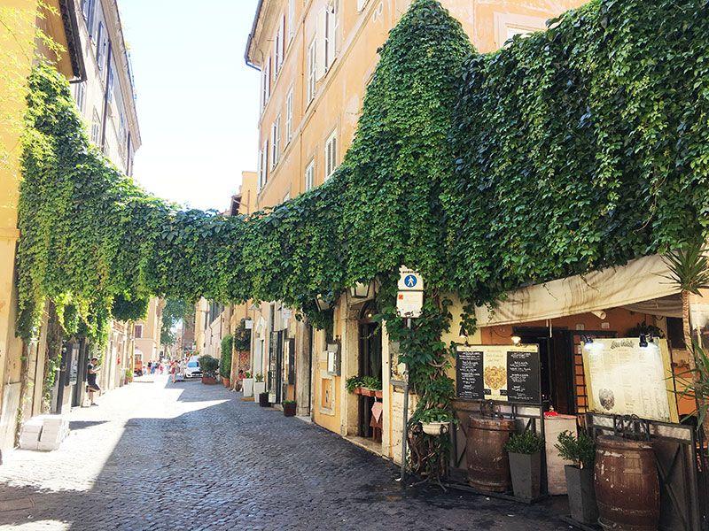 Qué ver en Trastevere - Roma - Jardines verticales