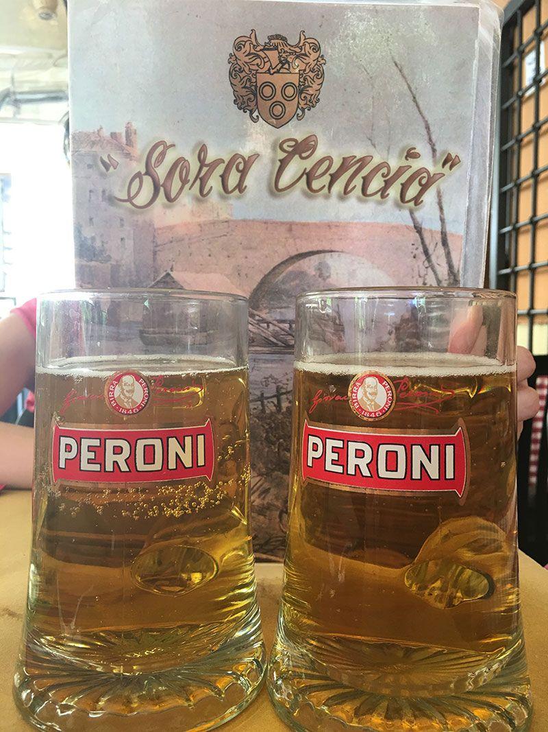Qué ver en Trastevere - Roma - Cerveza Peroni