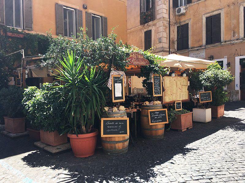 Qué ver en Trastevere - Roma - Trattoria Ponentino