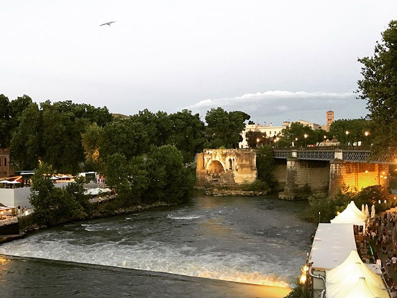 Qué ver en Trastevere - Roma - Vistas del Tíber