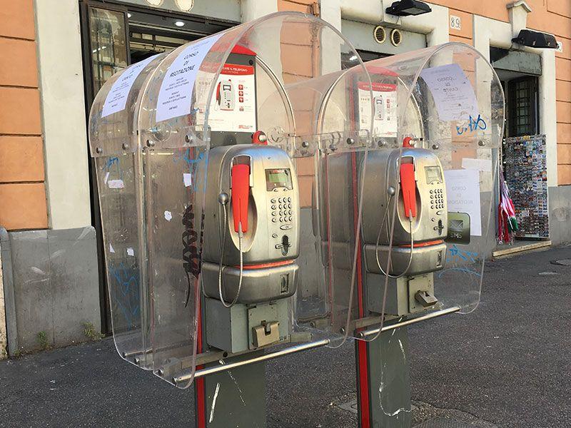 Qué ver en Trastevere - Roma - Cabinas telefónicas