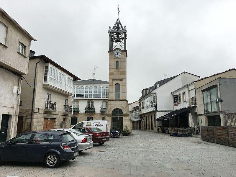 Qué ver en Trives - Ourense - Galicia - Plaza de la Iglesia