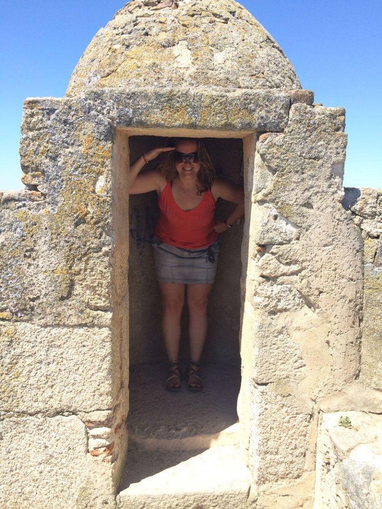 Qué ver en Trujillo - Caseta de vigilancia del Castillo