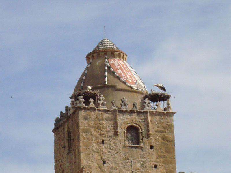 Qué ver en Trujillo - Cúpula de la Torre del Alfiler