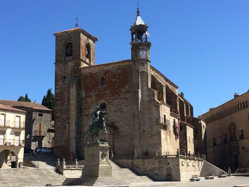 Qué ver en Trujillo - Iglesia de San Martín