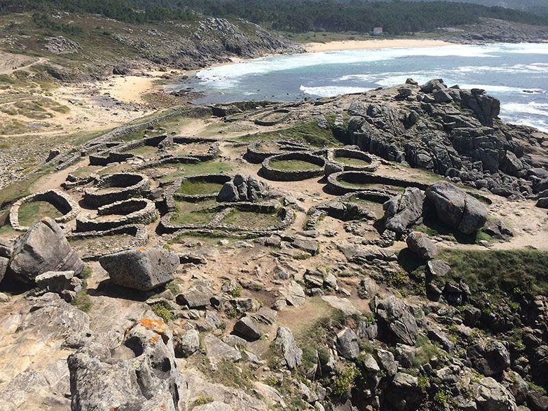 Qué ver en Galicia - Castro de Baroña