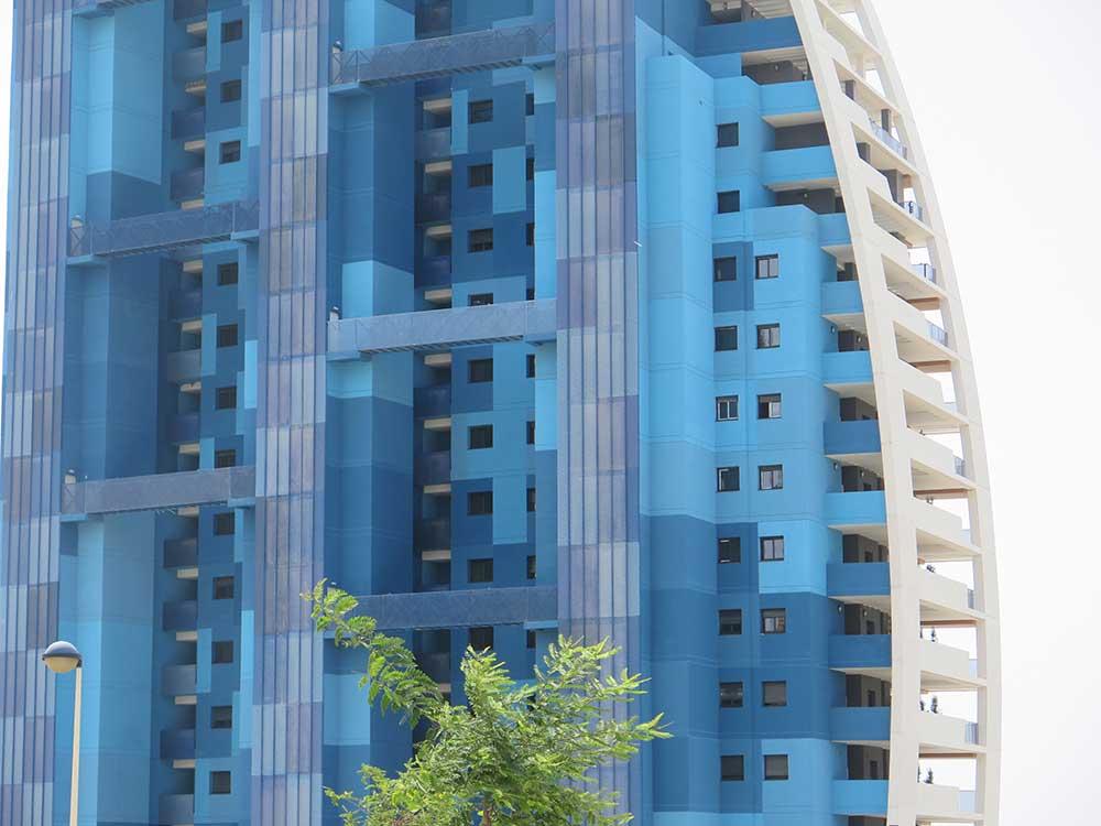 Qué ver y hacer en Benidorm - Detalle de edificio