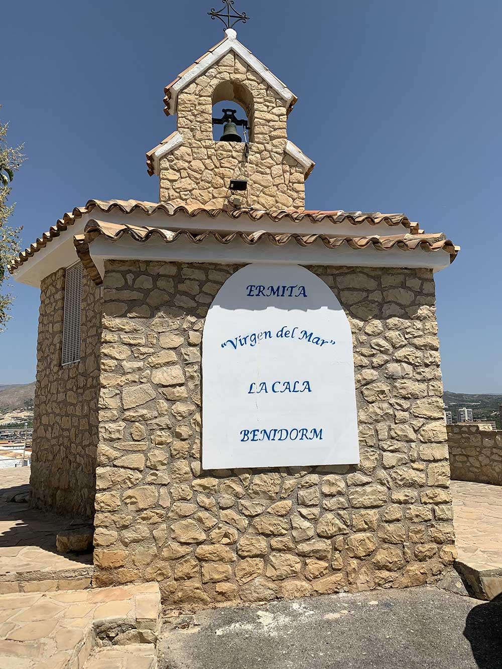 Qué ver y hacer en Bernidorm - Ermita Virgen del Mar