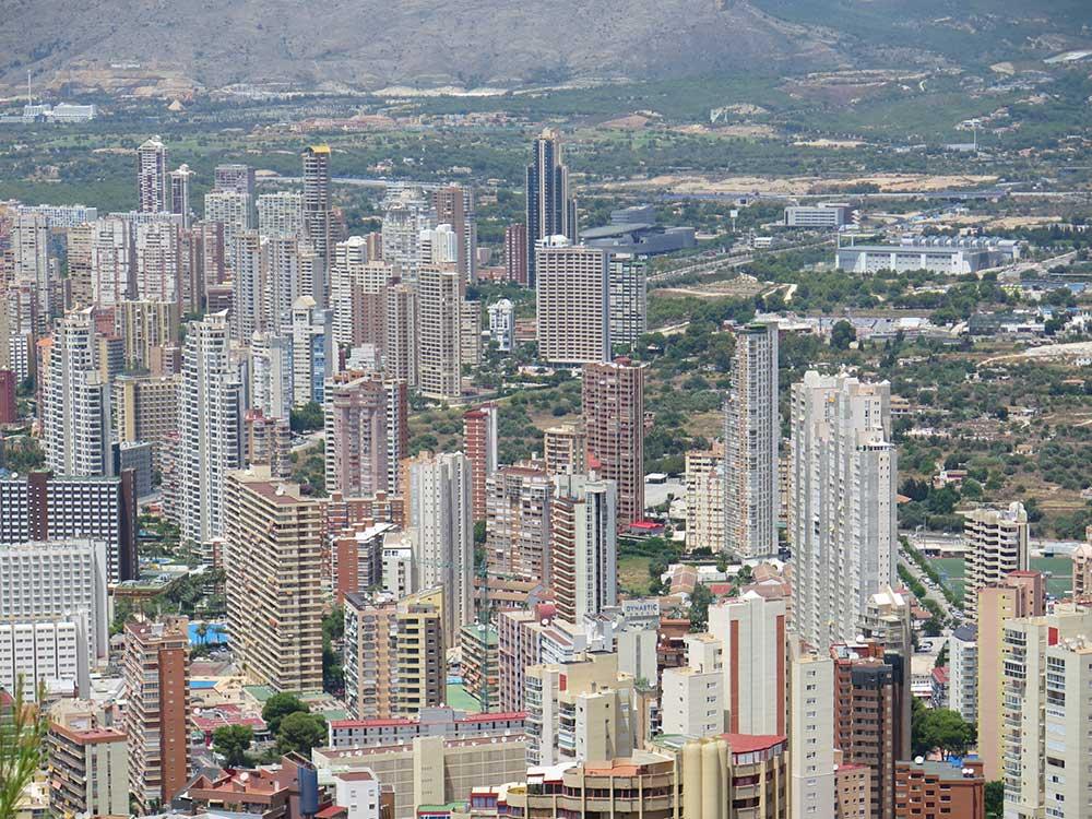 Modelo urbanístico vertical de Benidorm
