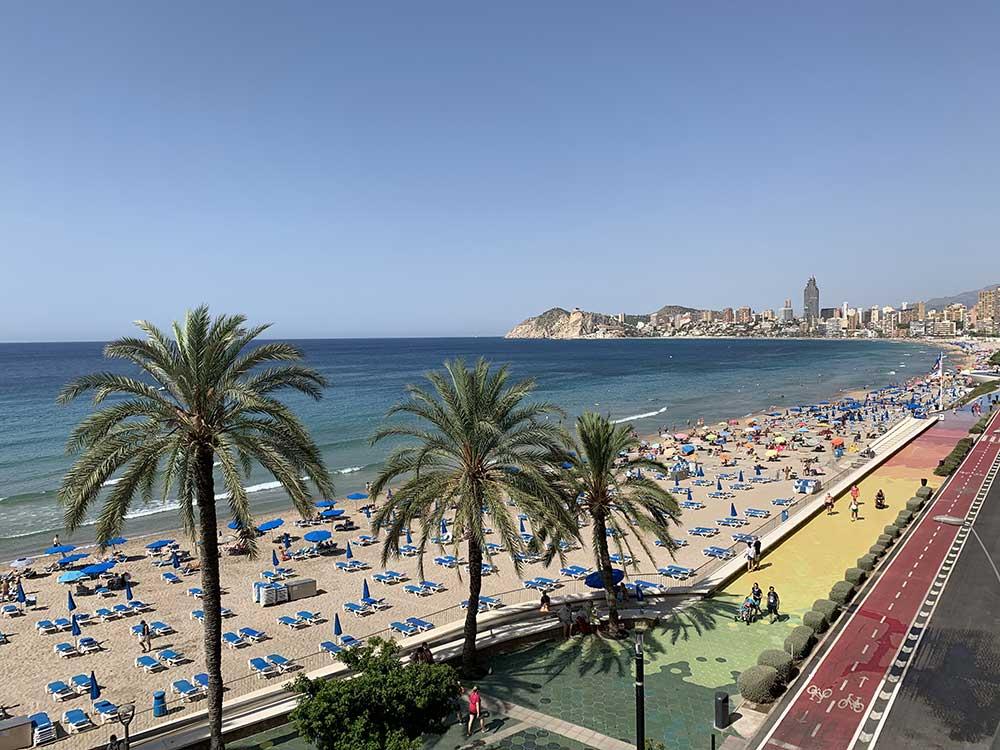 Qué ver en Benidorm - Playa de Levante