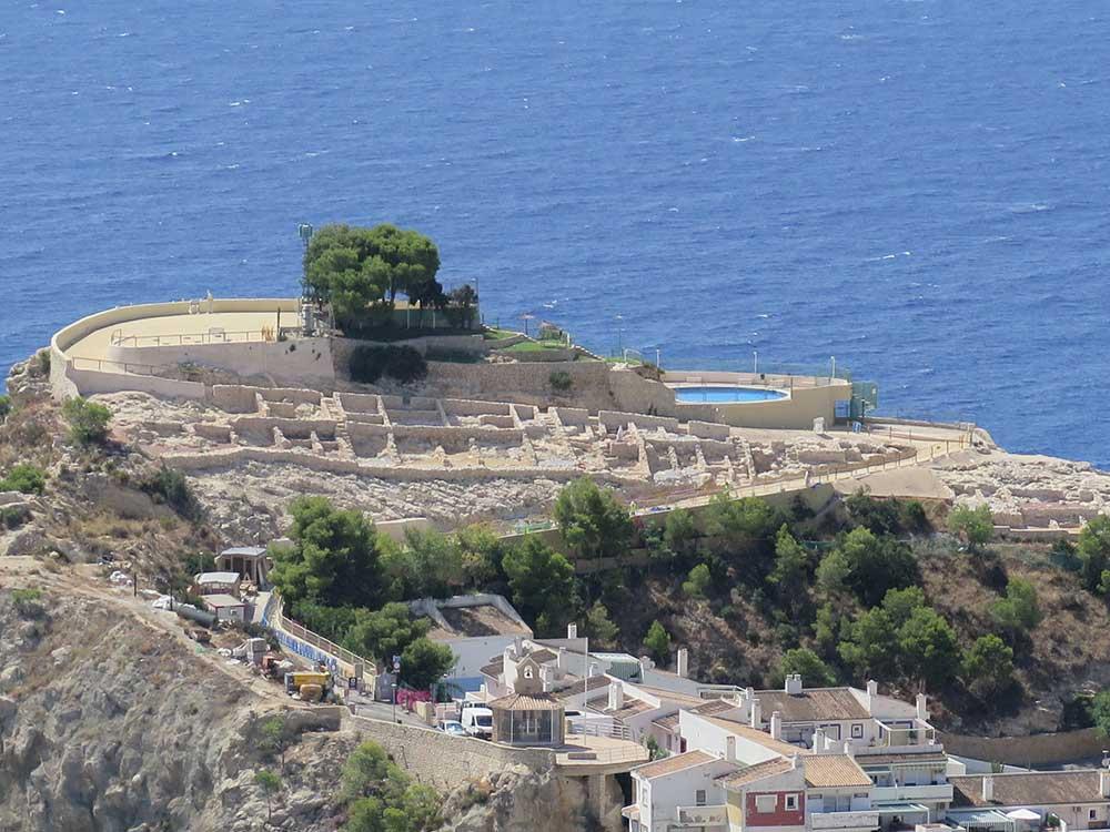 Restos arqueológicos de Tossal de la Cala