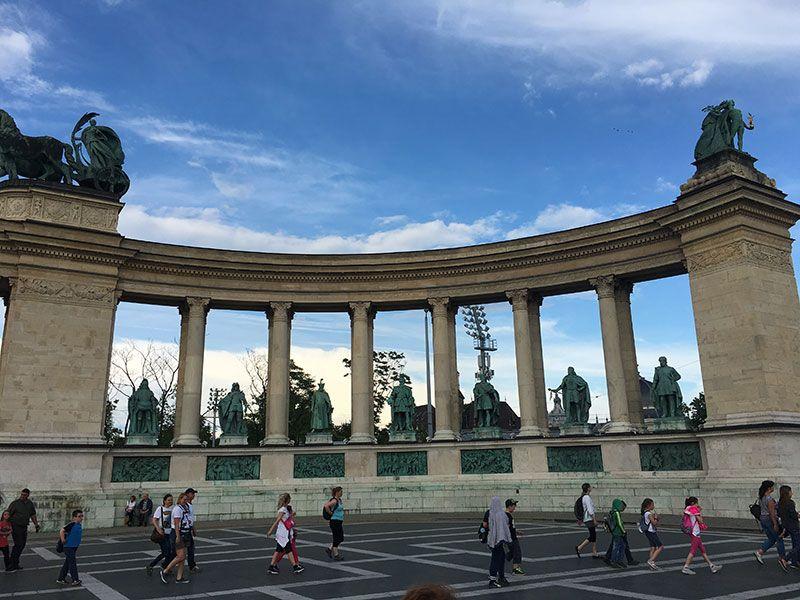 Qué ver y hacer en Budapest en 2 días - Plaza de los Héroes