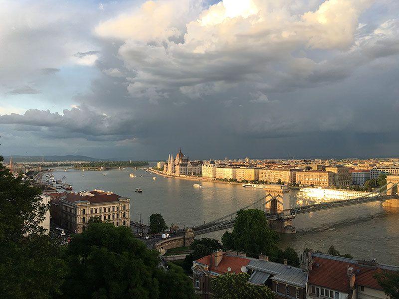 Qué ver y hacer en Budapest en 2 días - Vistas de Budapest