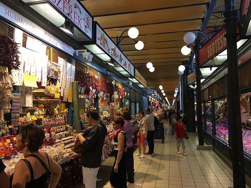Qué ver en Budapest en 2 días - Mercado Central