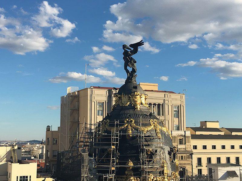Qué ver y hacer en Madrid en un día - Cúpula del Metrópolis