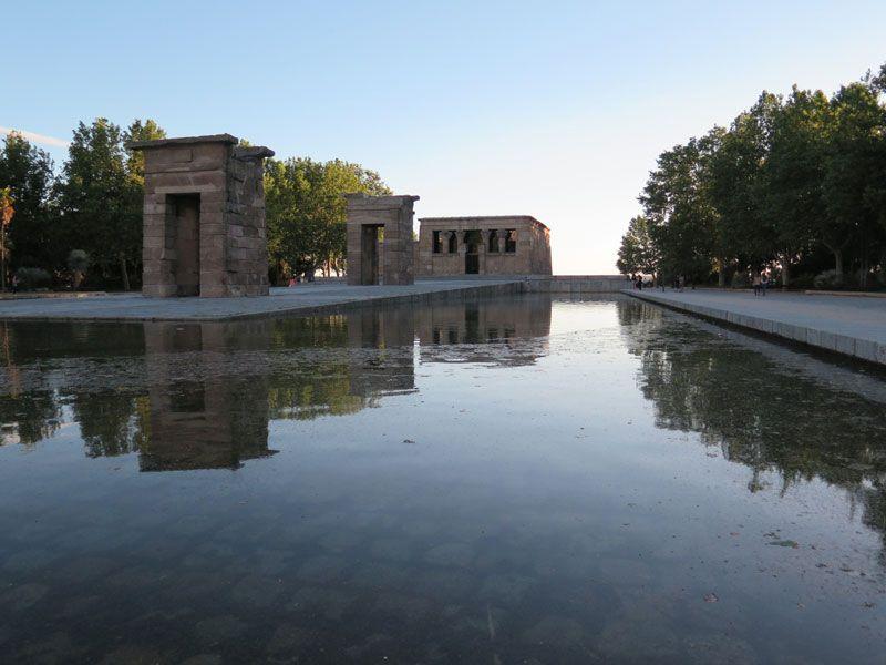 Qué ver y hacer en Madrid en un día - Templo de Debod