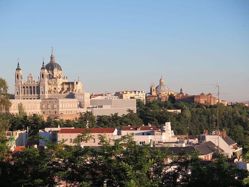Qué ver y hacer en Madrid en un día - Vistas del Palacio Real