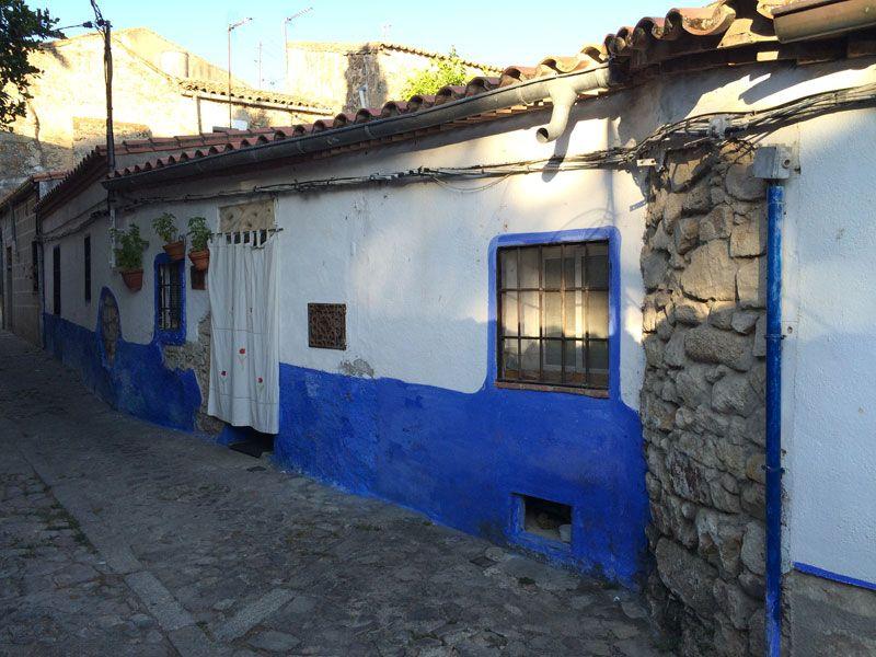 Antigua casa del recinto amurallado de Trujillo