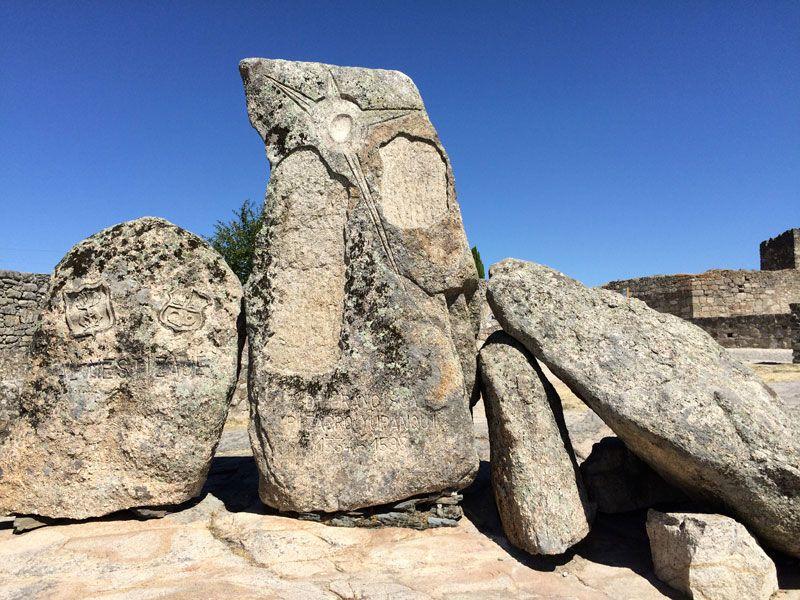 La Alcazaba del recinto amurallado de Trujillo