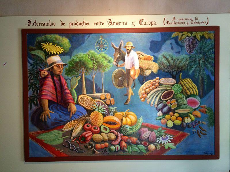 Cartel en el Museo de Francisco Pizarro - Recinto amurallado de Trujillo