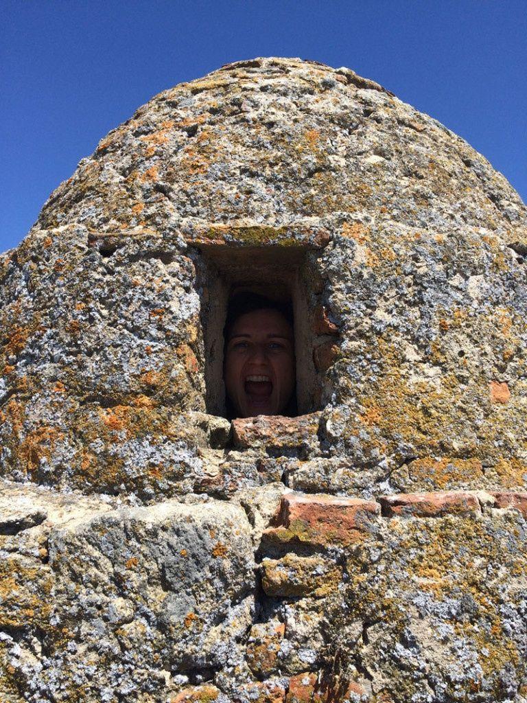 Caseta de vigilancia del Castillo de Trujillo