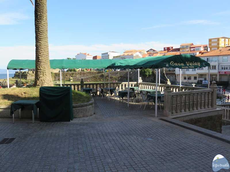 Terraza del restaurante Casa Velay