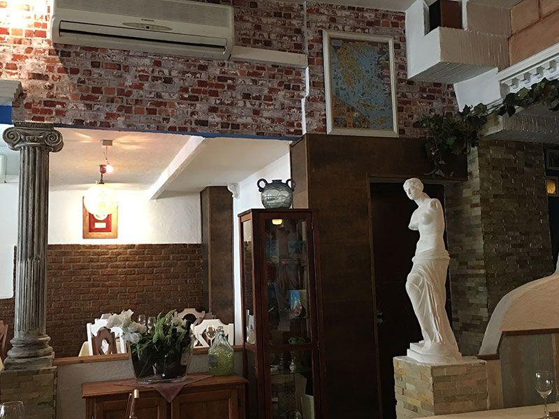 Milos - Restaurante griego en Madrid - Decoración