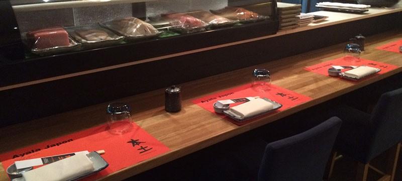 Sushi bar del Ayala Japón