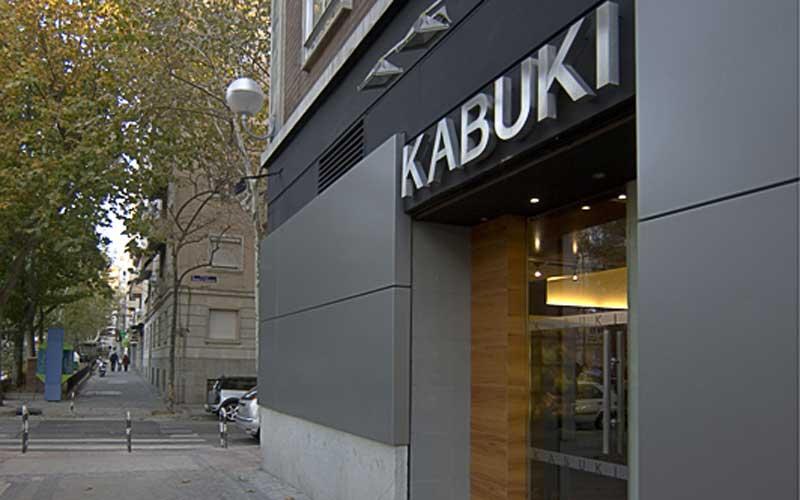 Restaurante Japonés Madrid - Fachada del restaurante japonés Kabuki