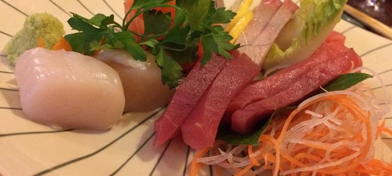 Sashimi. Variado de pescados del día