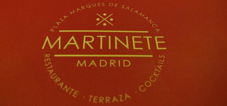 Restaurante Martinete de Madrid, cocina de mercado en la Plaza del Marqués de Salamanca
