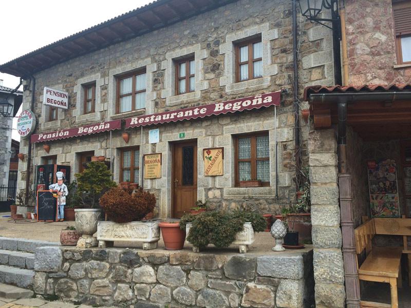 Restaurante Begoña en Posada de Valdeón