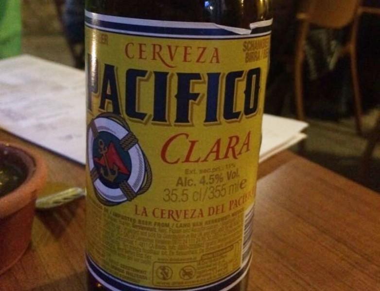 Pacífico, una riquísima cerveza mexicana