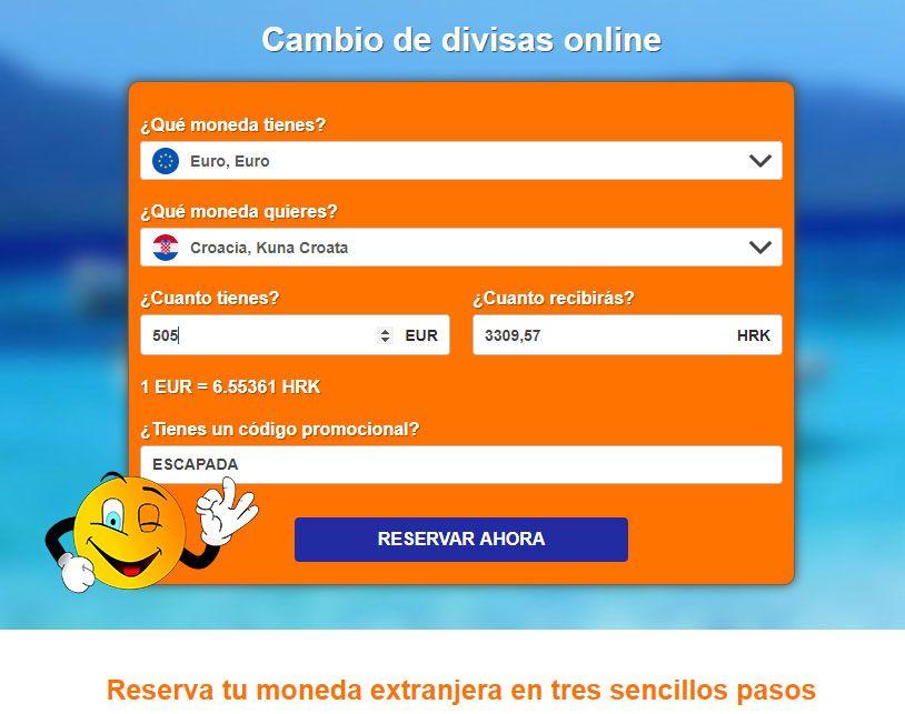 Ria, mejor cambio de moneda online