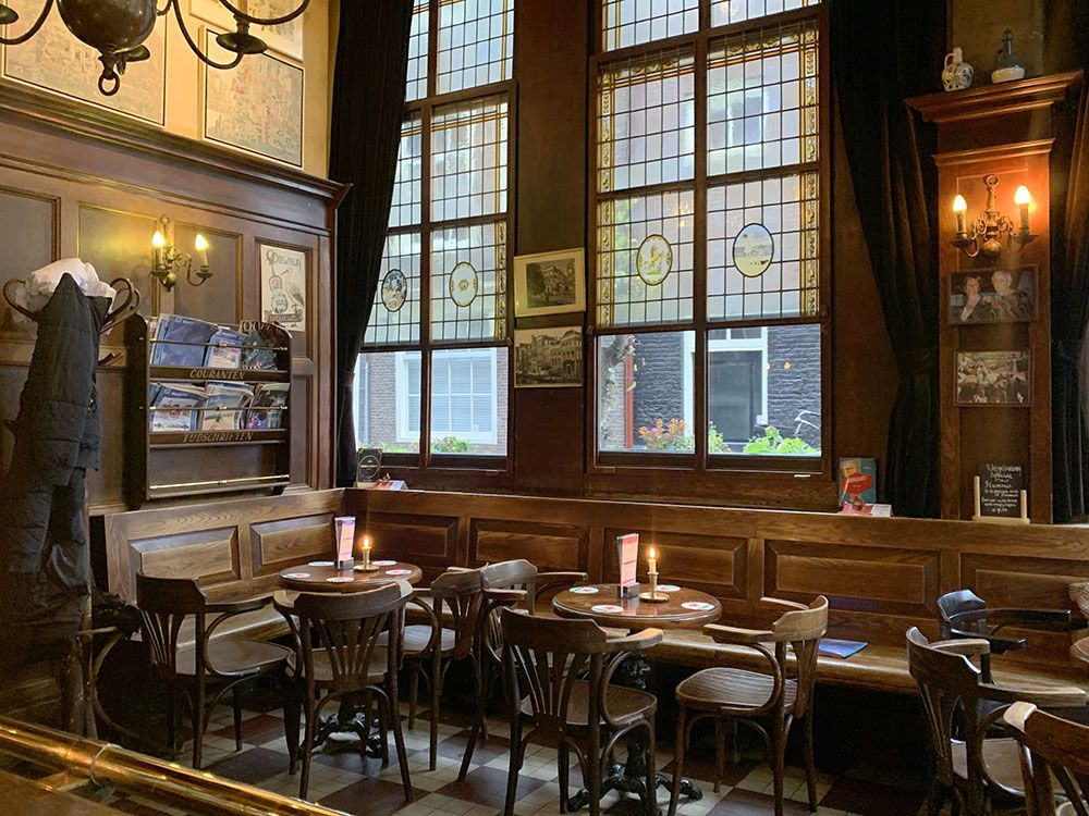 Rincones secretos de Amsterdam - Cafe/Bar 't Smalle