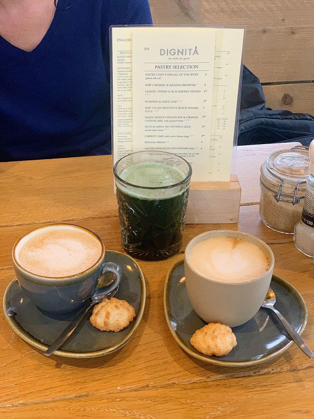 Cafés y zumo Green Paradise