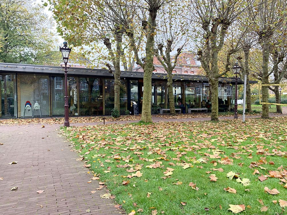 Rincones secretos de Amsterdam - Exteriores del Dignita Hoftuin