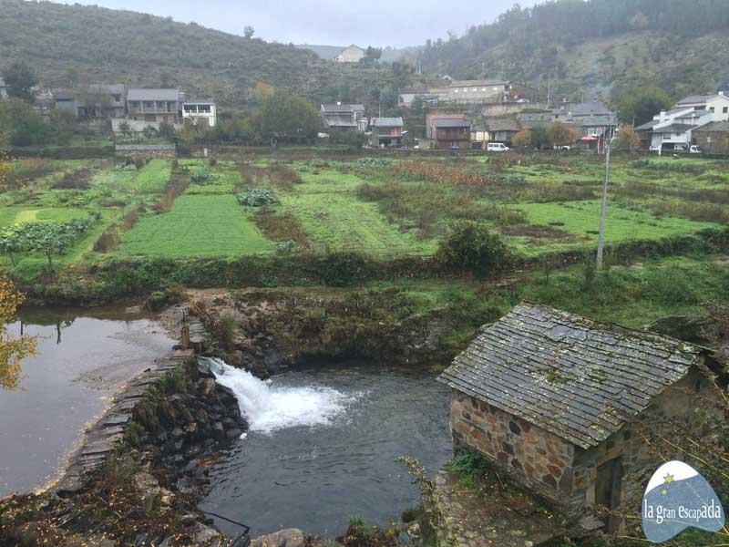 Río Cortensa español o río Onor en portugués