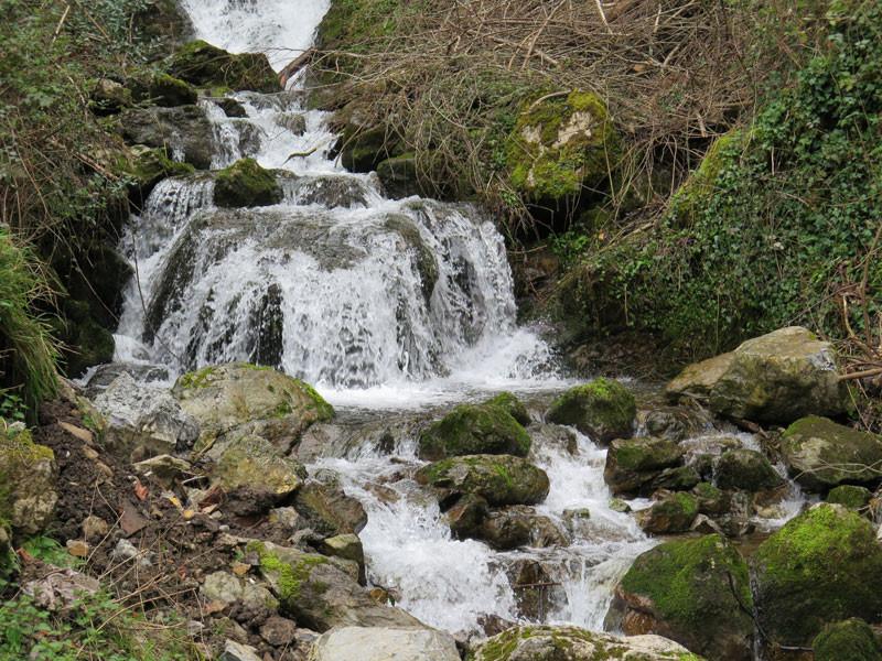 Río Sella a su paso por el Desfiladero de los Beyos