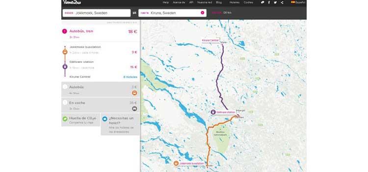 Transporte en Kiruna, programa Romerio