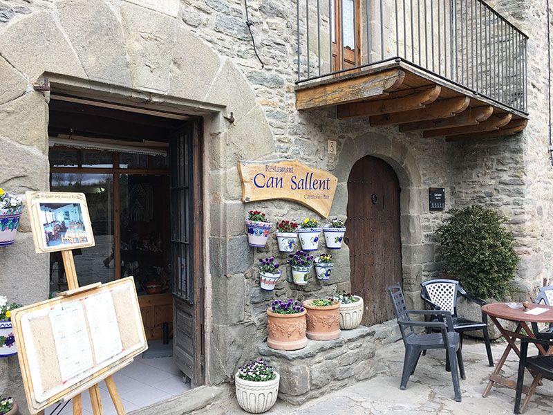 Rupit i Pruit - Pueblos con encanto de Barcelona - Restaurante Can Sallent