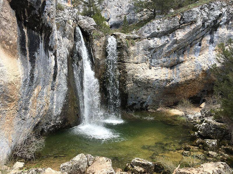 Monumento Natural de La Fuentona, Muriel de la Fuente - Soria - Cascada de La Fuentona