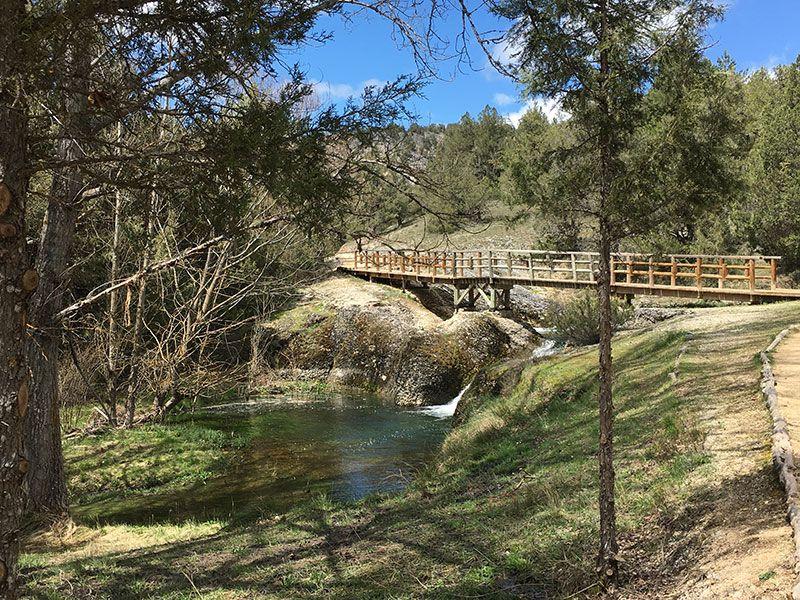 Monumento Natural de La Fuentona, Muriel de la Fuente - Soria - Puente