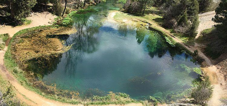 La Fuentona, un paraíso con forma de Ojo de Mar