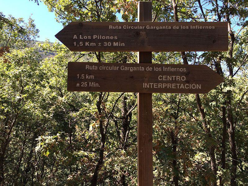Garganta de los Infiernos - Ecuador de la ruta