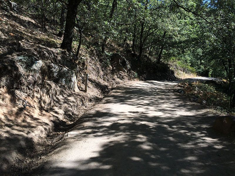 Garganta de los Infiernos - Pista forestal