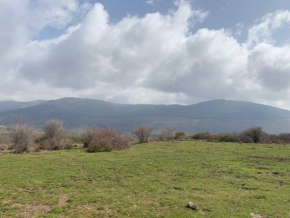 La Sierra de Madrid desde la Dehesa de Robregordo