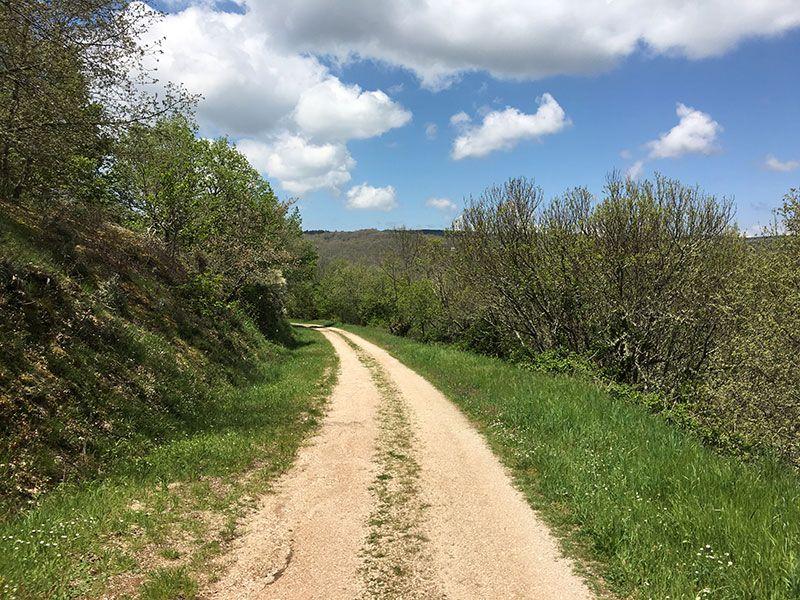Ruta de senderismo dos sequeiros Trives Ourense - Comienzo de la ruta