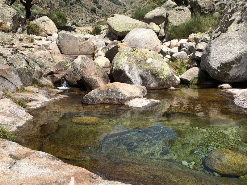 Aguas cristalinas del Charco del Trabuquete